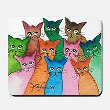 Cayo Stray Cats Mousepad