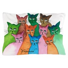 Cayo Stray Cats Pillow Case