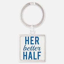 Her better half Keychains
