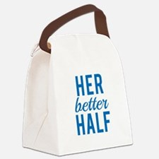 Her better half Canvas Lunch Bag
