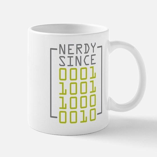 Nerdy Since 1982 Mug