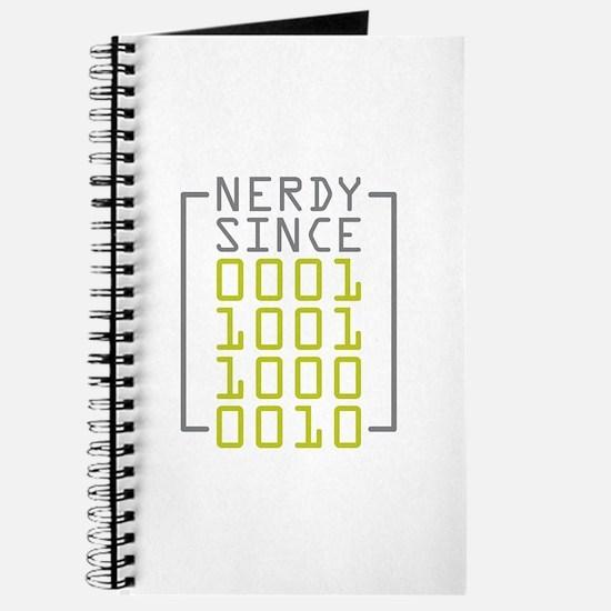 Nerdy Since 1982 Journal