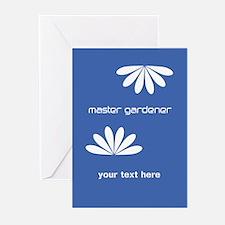 Cool Blue Gardener Greeting Cards (Pk of 20)