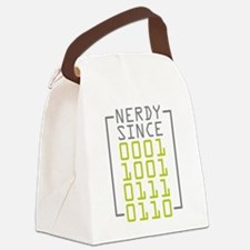 Nerdy Since 1976 Canvas Lunch Bag