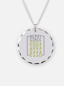 Nerdy Since 1976 Necklace