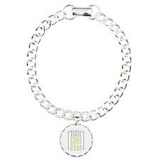 Nerdy Since 1974 Charm Bracelet, One Charm