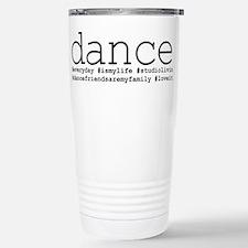 dance hashtags Thermos Mug