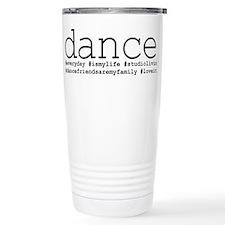 dance hashtags Travel Mug