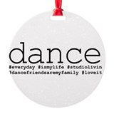 Dance Ornaments