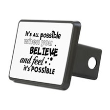 Motivational Saying Hitch Cover