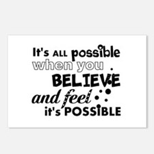 Motivational Saying Postcards (Package of 8)