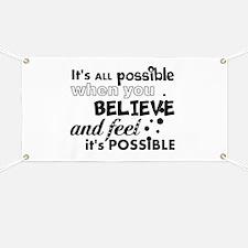 Motivational Saying Banner