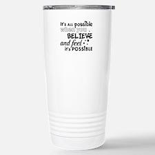 Motivational Saying Travel Mug