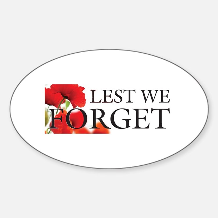Lest We Forget Car Accessories Auto Stickers License