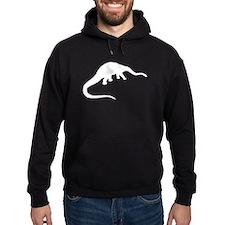 Diplodocus Silhouette Hoodie
