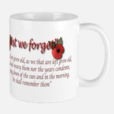 lest we forget Mugs
