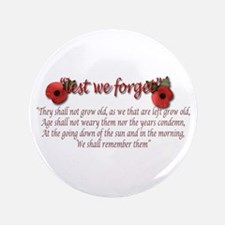 """lest we forget 3.5"""" Button"""