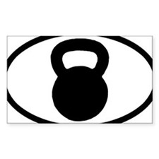 Cute Kettlebells Decal