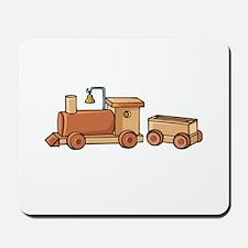 Wooden Train Mousepad