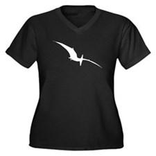 Pterodactyl Silhouette Plus Size T-Shirt