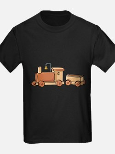 Wooden Train T