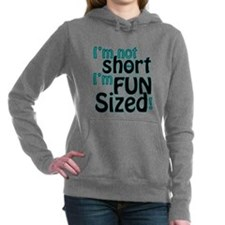Not Short, Fun Sized Women's Hooded Sweatshirt
