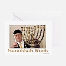 Hanukkah Bush Greeting Card