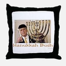 Hanukkah Bush Throw Pillow