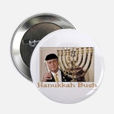 "Hanukkah Bush 2.25"" Button (100 pack)"