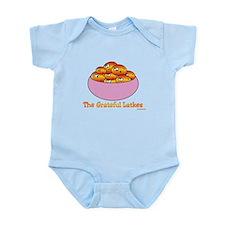 The Grateful Latkes Hanukkah Infant Bodysuit
