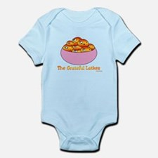 The Grateful Latkes Hanukkah Infant Bodysuit