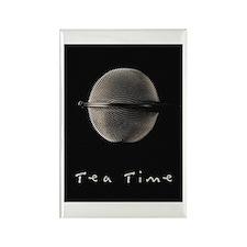 Tea Time Rectangle Magnet