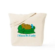 Couch Potato Hanukkah Tote Bag