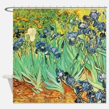 Van Gogh Irises Shower Curtain