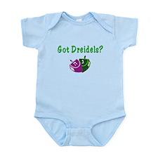 Got Dreidels? Hanukkah Infant Bodysuit