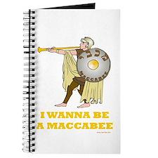 Wanna Be A Maccabee Hanukkah Journal