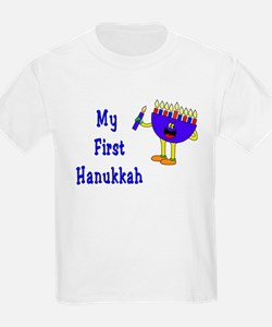 My First Hanukkah Kids T-Shirt