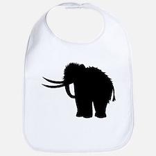 Woolly Mammoth Silhouette Bib