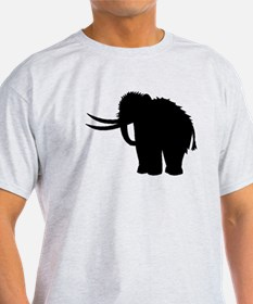 Woolly Mammoth Silhouette T-Shirt