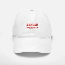 BERGER UNIVERSITY Baseball Baseball Cap