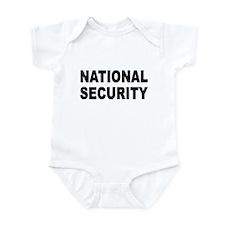NATIONAL SECURITY T-SHIRT BOR Infant Bodysuit