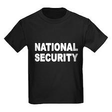 NATIONAL SECURITY T-SHIRT BOR T