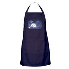 Kawaii Moon Apron (dark)