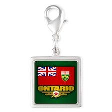 Ontario Flag Charms