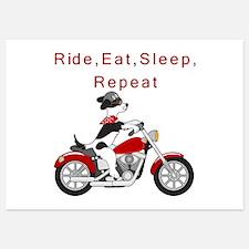 Biker Dog- Invitations