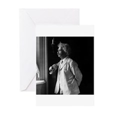 mark twain Greeting Cards