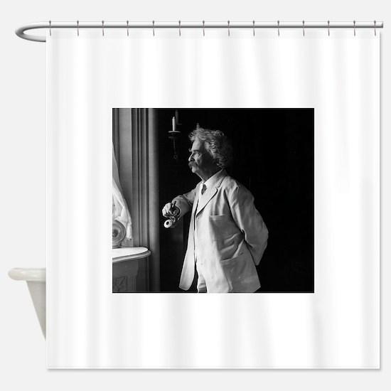 mark twain Shower Curtain