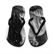 leo tolstoy Flip Flops