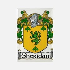 Sheridan Coat Of Arms Rectangle Magnet Magnets