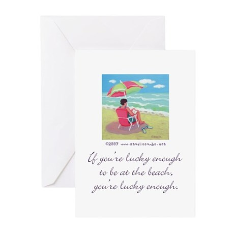 At the Beach Greeting Cards (Pk of 10)